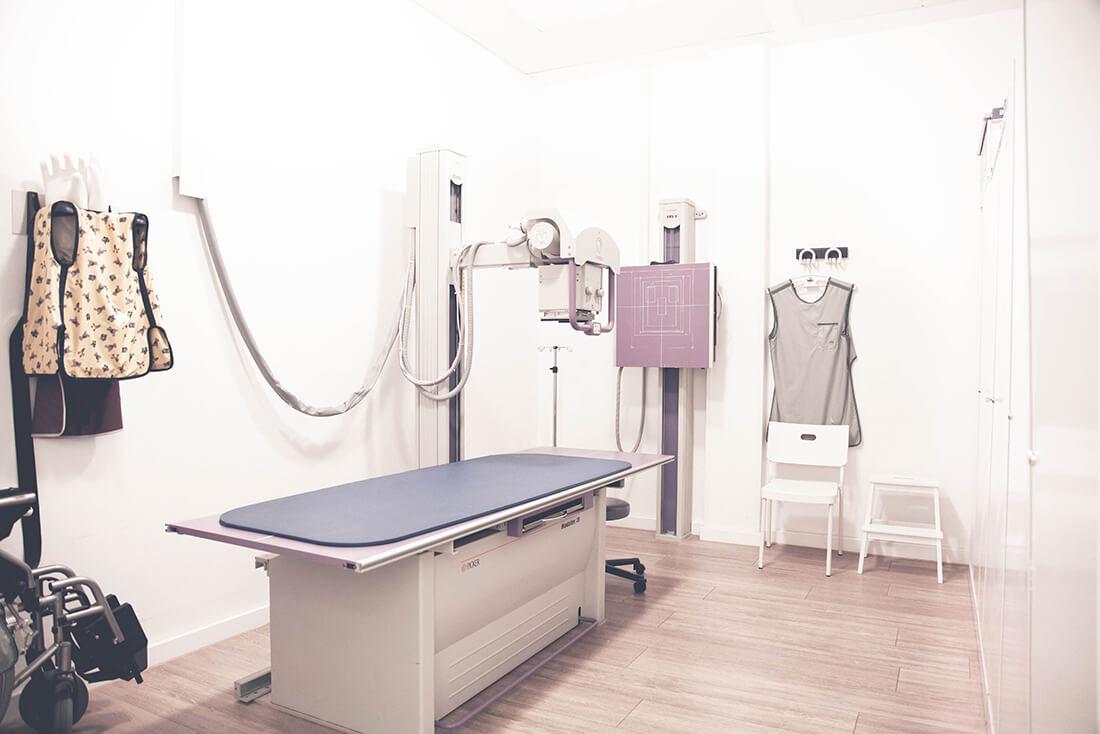Orthopädie Wannsee - Harbrecht - ein Behandlungszimmer unserer Praxis