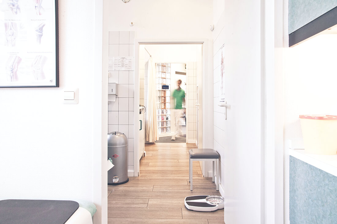 Orthopädie Wannsee - Harbrecht - unsere Praxisräume